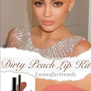 "Kylie Cosmetics Makeup - 💋New Kylie Cosmetics ""Dirty Peach"" Lip Kit💋"